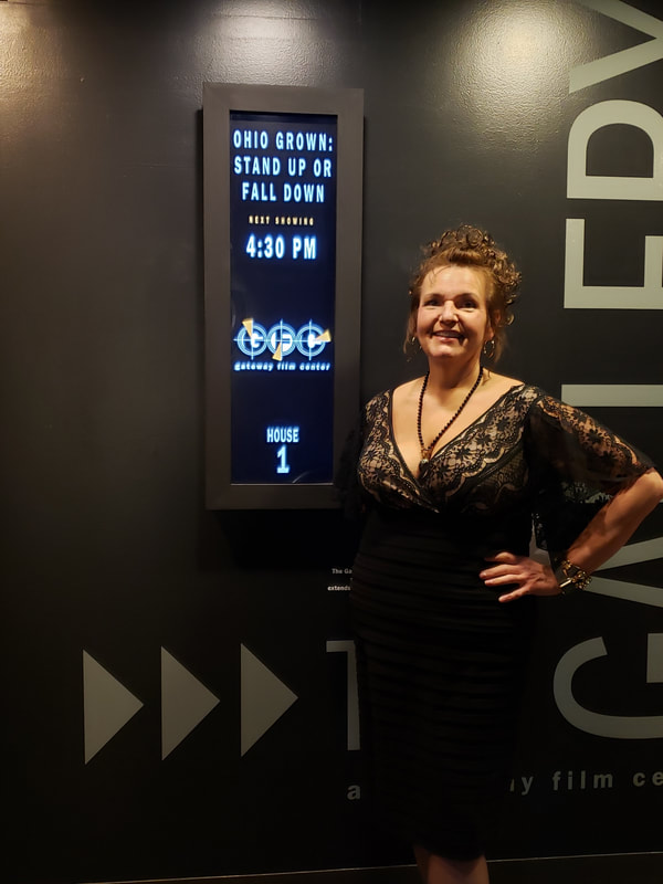 Patsy B at the Premiere screening of STAND UP OR FALL DOWN